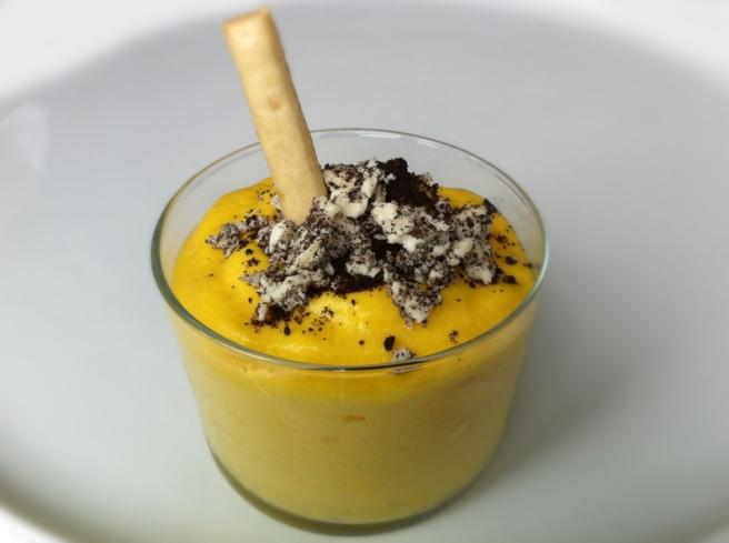 Mousse de mango y piña